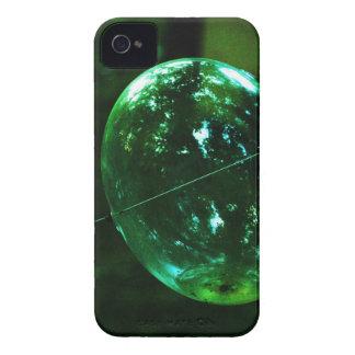 Carcasa Para iPhone 4 Gota de agua del vidrio verde