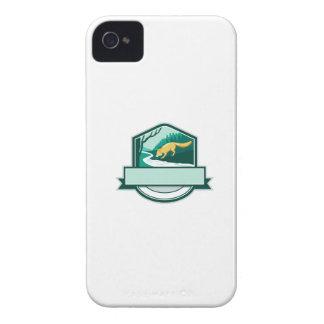 Carcasa Para iPhone 4 Grabar en madera de consumición del escudo de