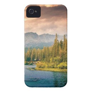 Carcasa Para iPhone 4 hilera de árboles en el desierto