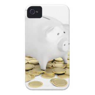 Carcasa Para iPhone 4 Hucha y monedas