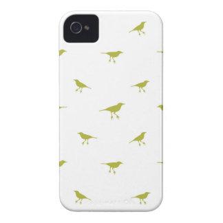 Carcasa Para iPhone 4 Impresión de la silueta de los pájaros