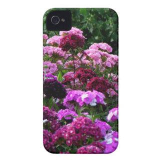 Carcasa Para iPhone 4 Jardín de flores en verano