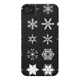 Carcasa Para iPhone 4 La nieve forma escamas colección