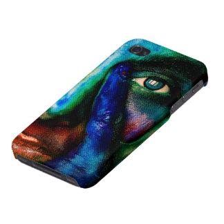 Carcasa Para iPhone 4 La señora de mil arco iris