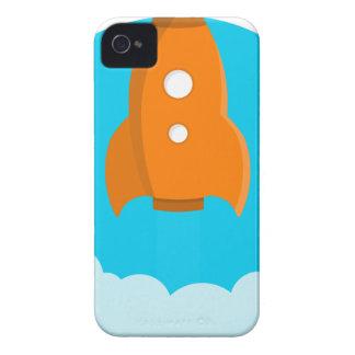 Carcasa Para iPhone 4 Lanzamiento de la nave de Rocket