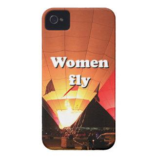 Carcasa Para iPhone 4 Las mujeres vuelan: globo 2 del aire caliente
