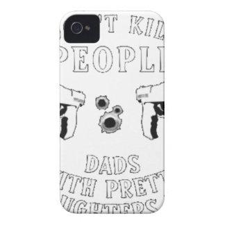 Carcasa Para iPhone 4 Los armas no matan a gente…