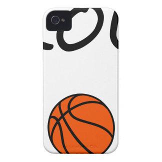 Carcasa Para iPhone 4 Mamá del baloncesto