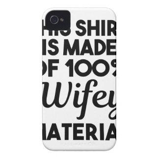 Carcasa Para iPhone 4 Material de Wifey