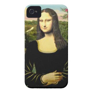 Carcasa Para iPhone 4 Mona Lisa - añada a un mascota