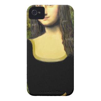 Carcasa Para iPhone 4 Mona Lisa - inserte a un mascota (#2)