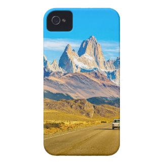 Carcasa Para iPhone 4 Montañas Nevado los Andes, EL Chalten, la