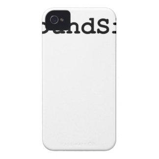 Carcasa Para iPhone 4 Muestra de la libra de Hashtag