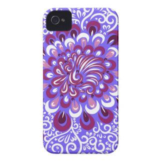 Carcasa Para iPhone 4 Neblina púrpura