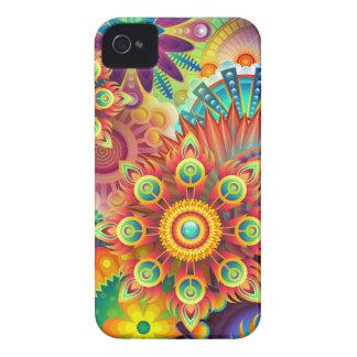 Carcasa Para iPhone 4 Nuevo fondo abstracto colorido