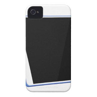 Carcasa Para iPhone 4 Ordenador de la tableta en blanco