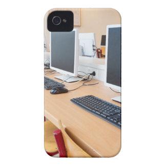 Carcasa Para iPhone 4 Ordenadores en sala de clase en High School