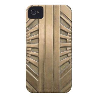Carcasa Para iPhone 4 oro, nouveau del arte, art déco, vintage, moda,