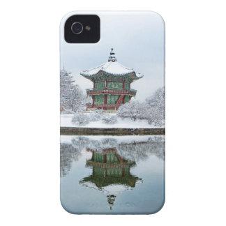 Carcasa Para iPhone 4 palacio del asiático del gyeongbok
