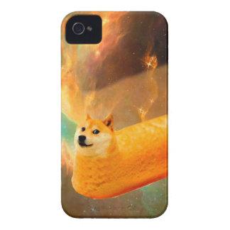 Carcasa Para iPhone 4 Pan del dux - dux perro-lindo del dux-shibe-dux