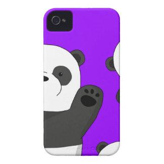 Carcasa Para iPhone 4 Pandas lindas