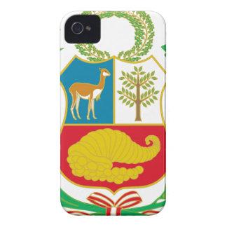 Carcasa Para iPhone 4 Perú - escudo Nacional (emblema nacional)
