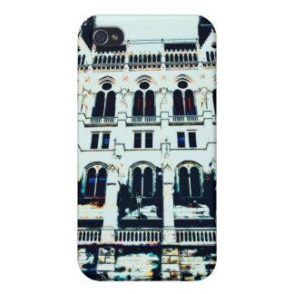 Carcasa Para iPhone 4 Pintura húngara del parlamento