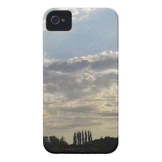 Carcasa Para iPhone 4 Porciones de nubes