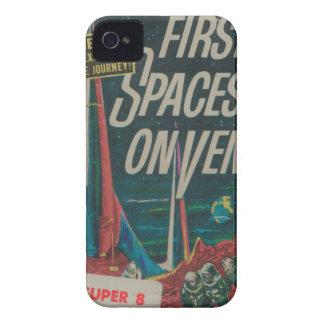 Carcasa Para iPhone 4 Primera nave espacial en la película del Scifi del