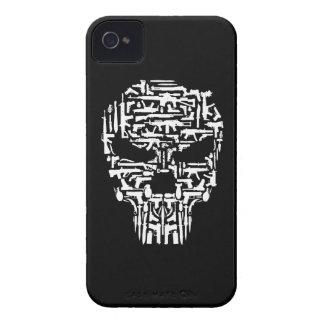Carcasa Para iPhone 4 Productos del cráneo y de los armas y de los