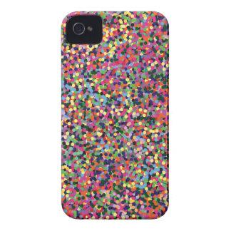 Carcasa Para iPhone 4 Puntos coloridos
