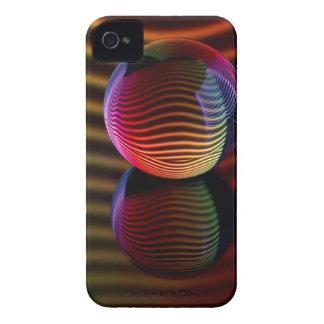Carcasa Para iPhone 4 Reflexiones en la bola de cristal