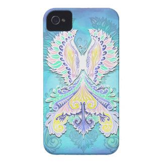 Carcasa Para iPhone 4 Renacido - luz, bohemio, espiritualidad