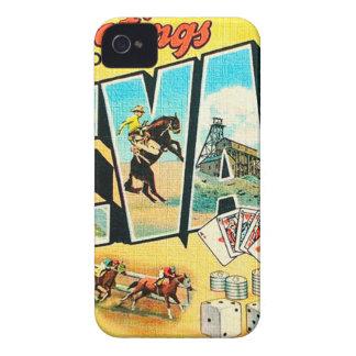 Carcasa Para iPhone 4 Saludos de Nevada