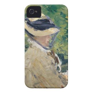 Carcasa Para iPhone 4 Señora Manet (Susana Leenhoff, 1830-1906)