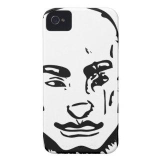 Carcasa Para iPhone 4 Sonrisa boba de la calle del agente
