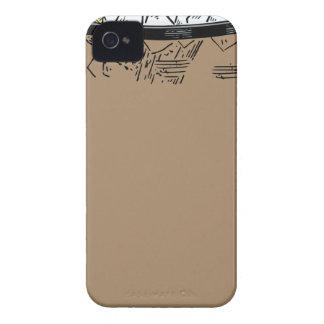 Carcasa Para iPhone 4 Té de hielo