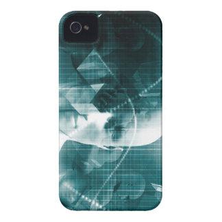 Carcasa Para iPhone 4 Tecnología futurista de la ciencia médica como