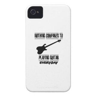 Carcasa Para iPhone 4 Tender diseños del guitarrista