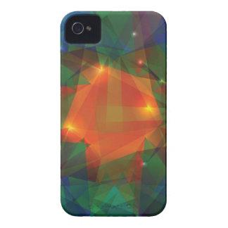 Carcasa Para iPhone 4 textura abstracta