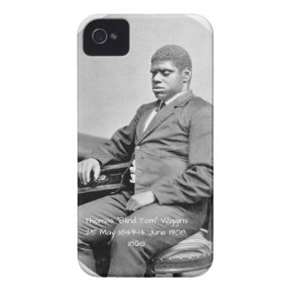 """Carcasa Para iPhone 4 Thomas """"Tom ciego"""" Wiggins, 1860"""