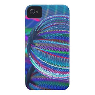 Carcasa Para iPhone 4 Tres bolas de cristal en color