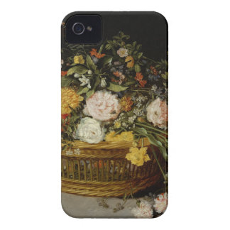 Carcasa Para iPhone 4 Una cesta de flores - Jan Brueghel el más joven