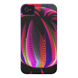 Carcasa Para iPhone 4 Variación de colores en el vidrio