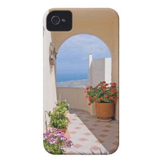 Carcasa Para iPhone 4 Visión en la isla de Santorini