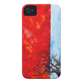 Carcasa Para iPhone 4 Zarza ardiente