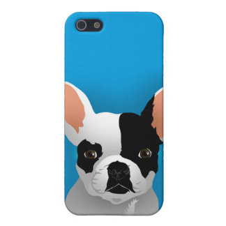 Carcasa Para iPhone 5 Arte del dogo - dogo francés
