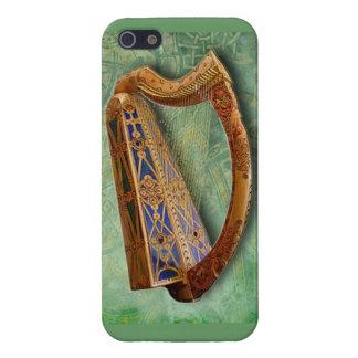 Carcasa Para iPhone 5 Celtic Harp Iphone Case