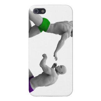 Carcasa Para iPhone 5 Concepto de los artes marciales para luchar y la