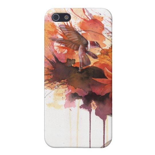 Carcasa Para iPhone 5 Hummingbird